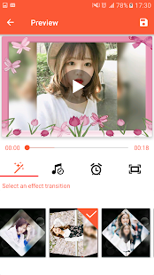Video Maker from Photos, Music & video editor