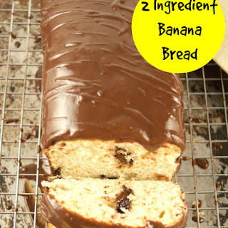 2 Ingredient Banana Bread