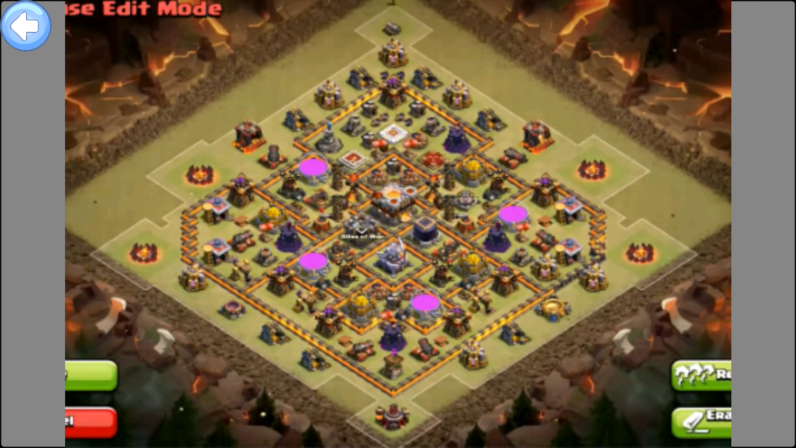 Bases Layouts for COC- screenshot