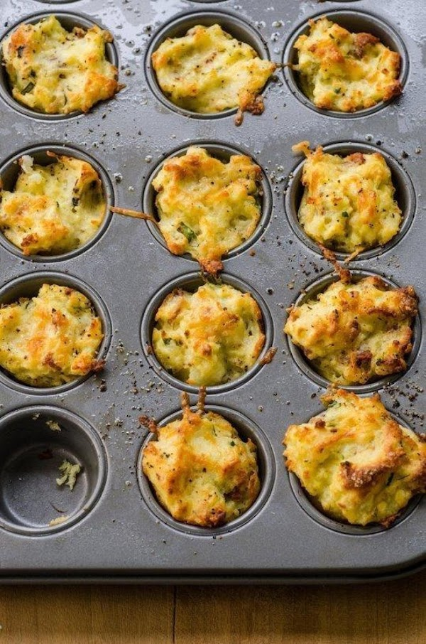 Bake for 20 minutes, or until the potato cups are set, browned on top,...