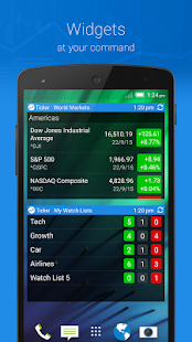 Ticker : Stocks Portfolio Mgr screenshot
