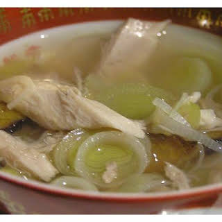 Leek and Chicken Soup.
