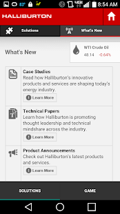 Halliburton Solutions- screenshot thumbnail