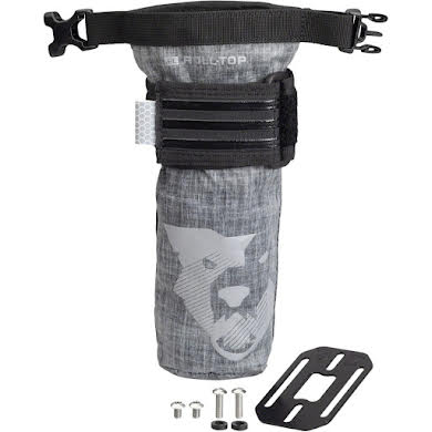 Wolf Tooth B-RAD TekLite Roll-Top Bag and Mounting Plate - 0.6L Black
