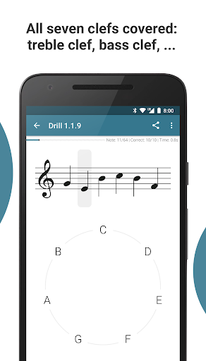 Complete Music Reading Trainer screenshot 3