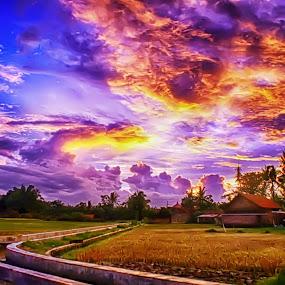 before sunset by Ferysetya Ma - Landscapes Sunsets & Sunrises