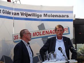 Photo: Toelichting van Oscar Huiskamp over het ontstaan van de GVM afdeling Zeeland