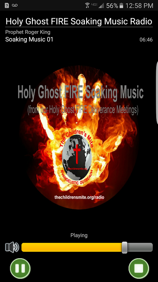Holy Ghost FIRE Soaking Music- screenshot