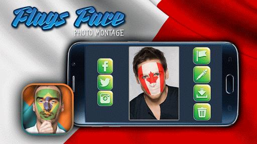 玩免費攝影APP|下載国旗合成照片- 面部彩绘 app不用錢|硬是要APP