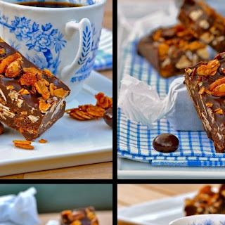 Dark Chocolate Breakfast Bar