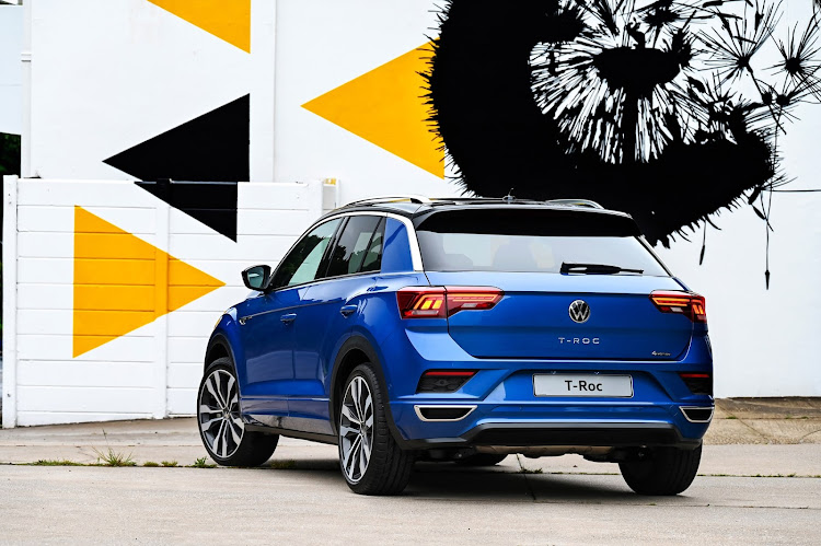 The T-Roc slots in between the T-Cross and Tiguan.