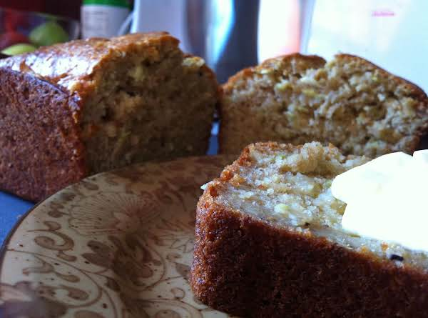 Warm Banana Bread Smothered In Butter Is Always Better! =d