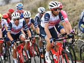 Een overzicht van de klassementsrenners in de Ronde van Italië