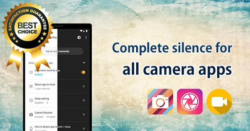 Mute Camera Pro screenshots 1