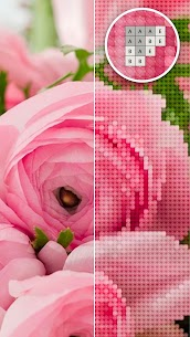 Color by Letter – Sewing game  Cross stitch 1.0.20 Latest MOD Updated 1