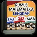 Rumus Matematika SD SMP SMA icon