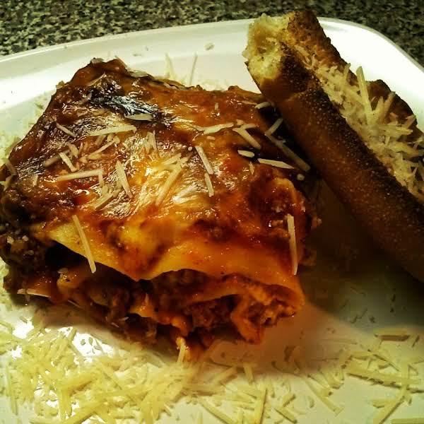 Beef And Spicy Italian Sausage Lasagna Recipe