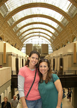 Photo: Teresa and Katie at a Musee d'Orsay in Paris