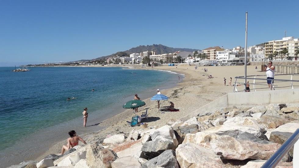 Garrucha, playa de la bella localidad del Levante Almeriense.