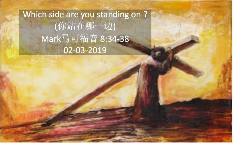Which side are you standing on ? (你站在哪一边)