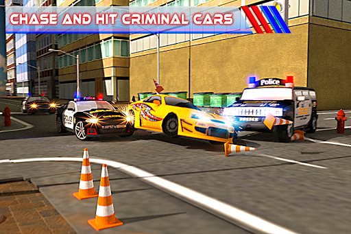 Fast Police Car Chase 3D