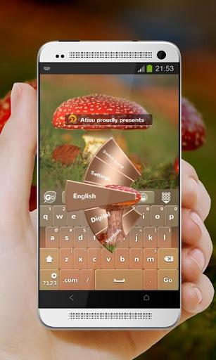 赤いキノコ GO Keyboard
