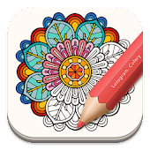Free Adult Coloring: Mandala