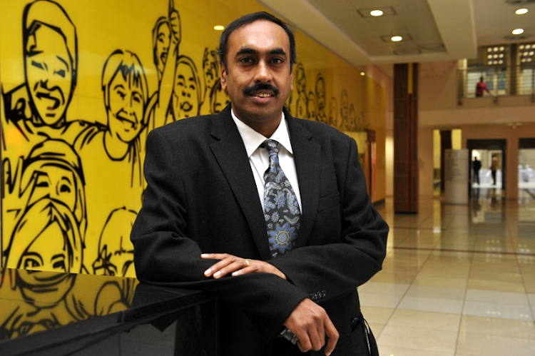 Anban Pillay, deputy director-general of health regulation and compliance at the Department of Health. File Picture: ROBERT TSHABALALA/FINANCIAL MAIL