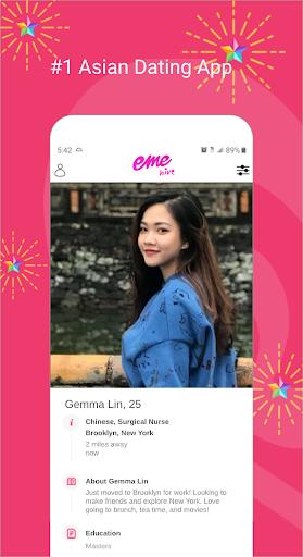EME Hive - #1 Asian Dating App 2.1.4 Screenshots 2