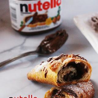 Nutella Croissants.