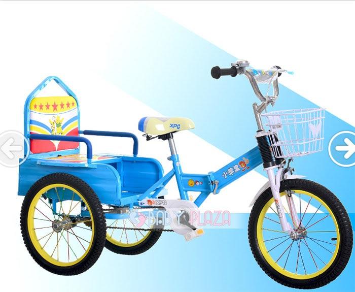 Xe đạp xích lô dành cho bé yêu XL-01 6