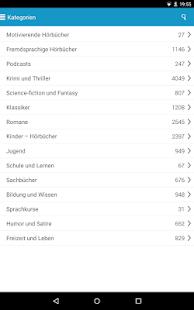 Audioteka - Hörbücher-App Screenshot