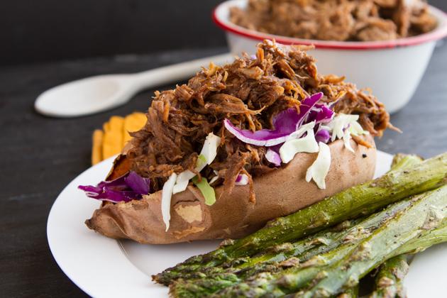 6-Ingredient Root Beer Slow Cooker Pulled Pork Recipe