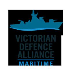 VDA Victorian Defence Alliance Maritime Logo