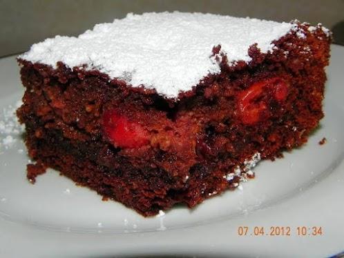 Black Forest Buttermilk Cake