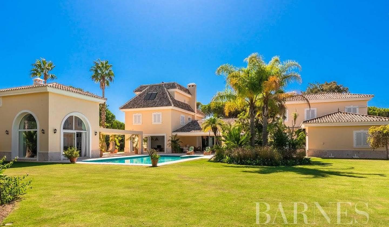 Villa avec piscine et terrasse Sotogrande