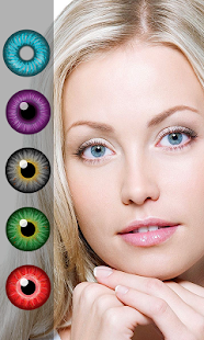 Change eye color - náhled