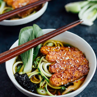 Zucchini Noodle Ramen Bowls.
