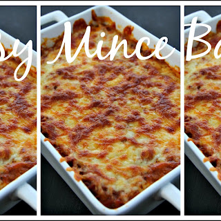 Cheesy Mince Bake