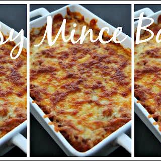 Cheesy Mince Bake.
