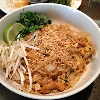 Pad Thai Noodles from Doc Chey's Noodle House