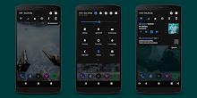 Black/Dark Substratum Theme «Infinity» screenshot 1