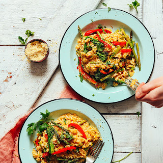 Creamy Vegetable Risotto (30 minutes!).