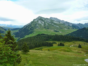 Photo: #016-Panorama du massif de Beauregard.