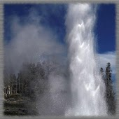 Yellowstone Geysers Wallpaper