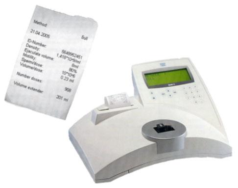Photometer SDM5 for determination of sperm concentration.