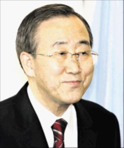 Ban Ki-moon. Pic. Unknown. © Unknown.