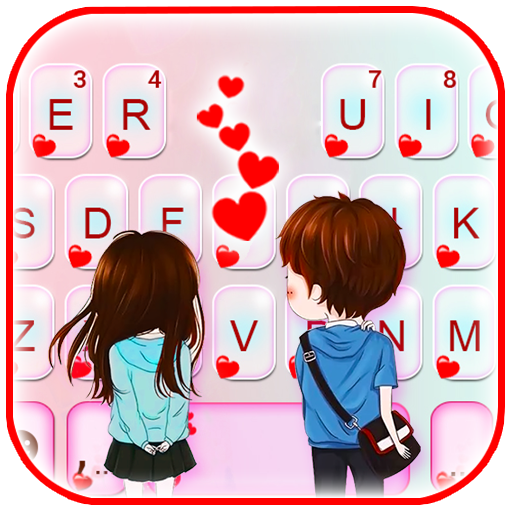 Young Couple Love Keyboard Theme