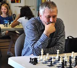 Photo: Parents plays chess
