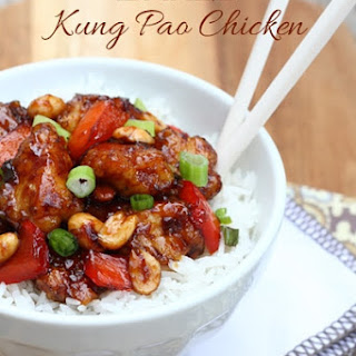 Baked Kung Pao Chicken Recipe